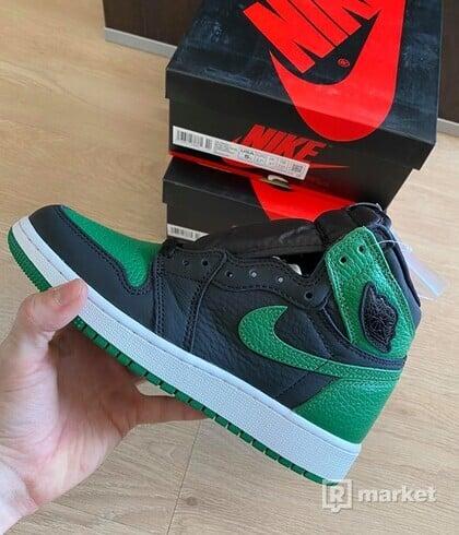 Jordan 1 Retro High Pine Green Black (GS)