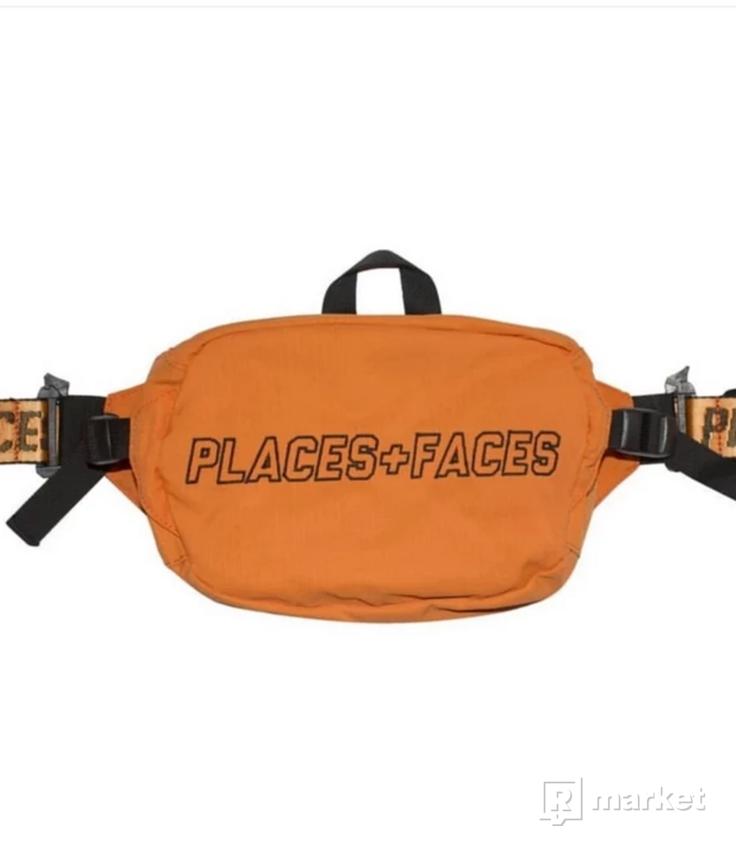 Places + Faces waist bag orange