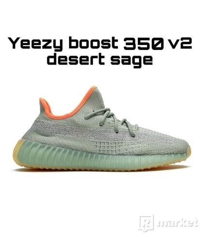 Yeezy Boost 350 V2 Desert Sage ( Reflexní )