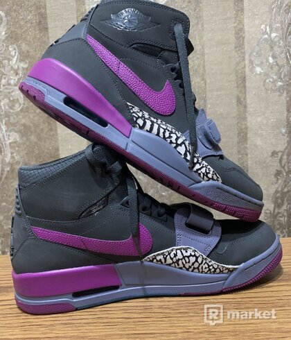 Jordan Legacy 312 Grey Purple