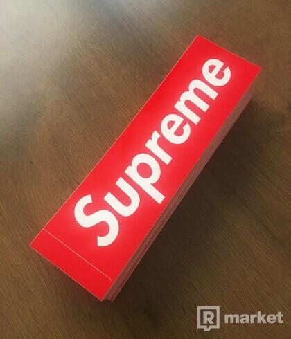 Supreme samolepky / Supreme stickers