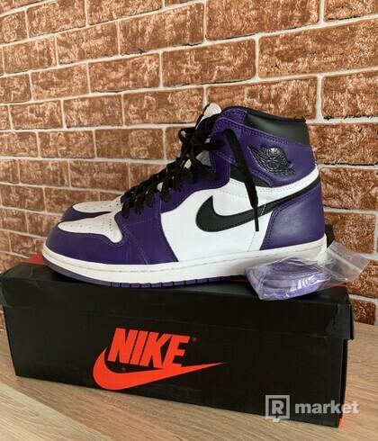 Nike Air Jordan 1 High Court Purple 44,5