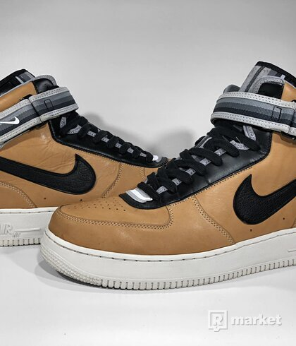"Nike Air Force 1 Mid x Riccardo Tisci ""Vachetta Tan"""