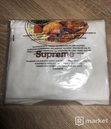 Supreme Chicken Dinner Tee - White
