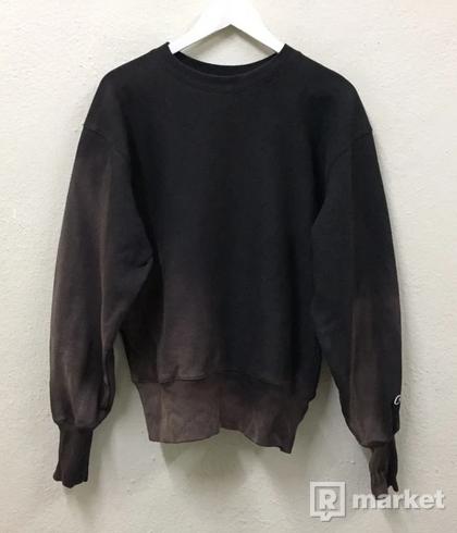 Champion Vintage Acid Wash Crewneck Sweatshirt