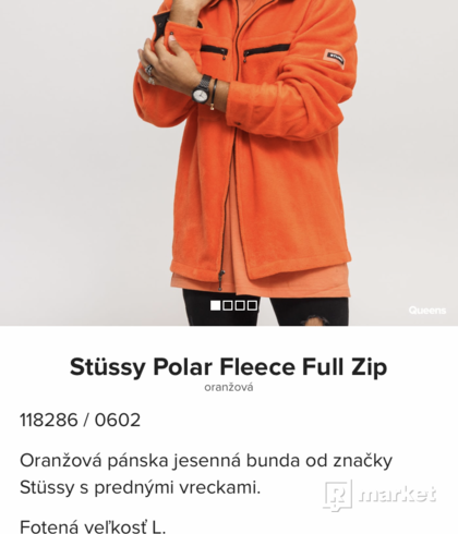 Stüssy Polar Fleece Full Zip