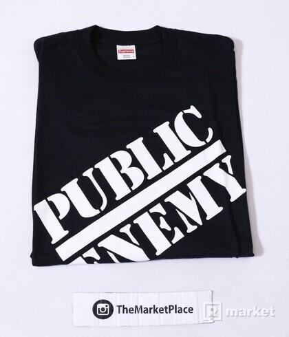 Supreme x Undercover x Public enemy tee