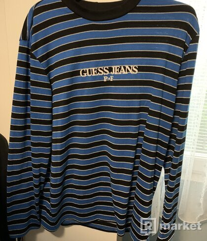 Places Plus Faces X Guess Jeans Reflective Tee