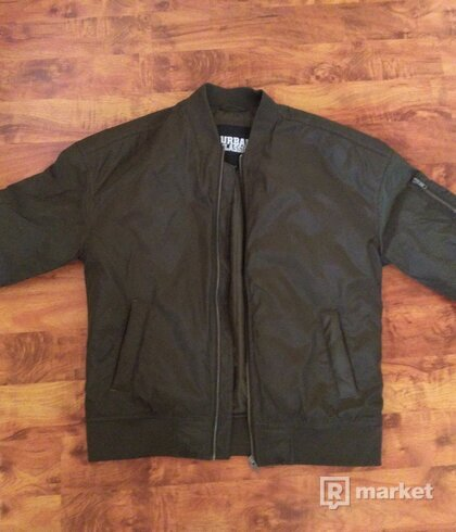 Urban classic bomber jacket
