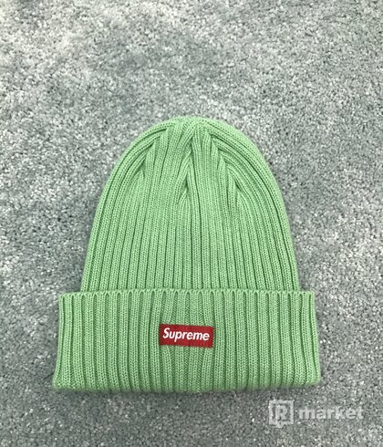 Supreme Overdyed Beanie (SS20) Mint