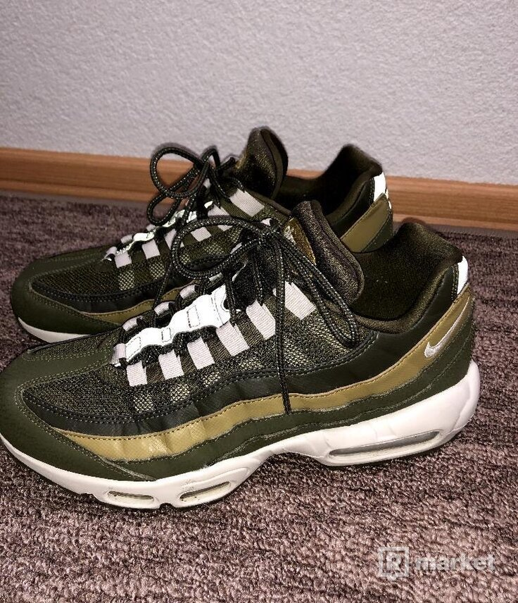 """Nike air max 95 """"Olive canvas"""""""