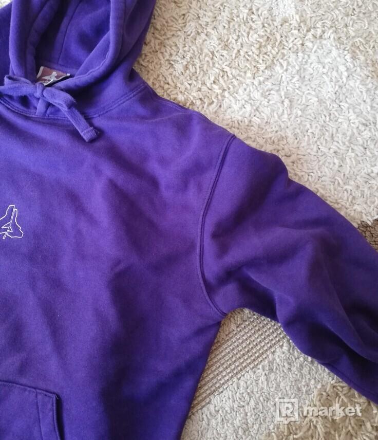 Lepra Delirio Purple Hoodie