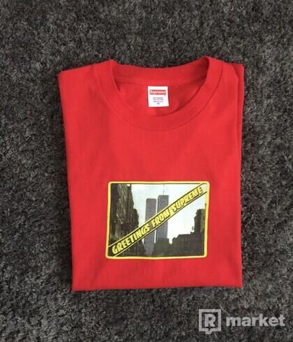 Supreme tričko lacno