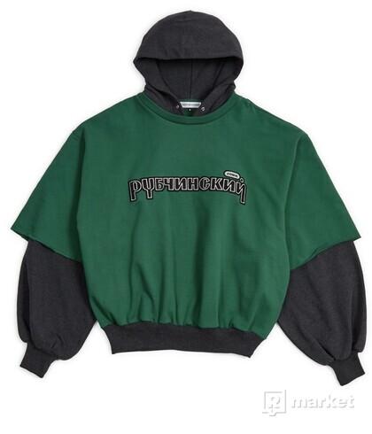 Gosha Rubchinskiy Combo Hooded Sweatshirt