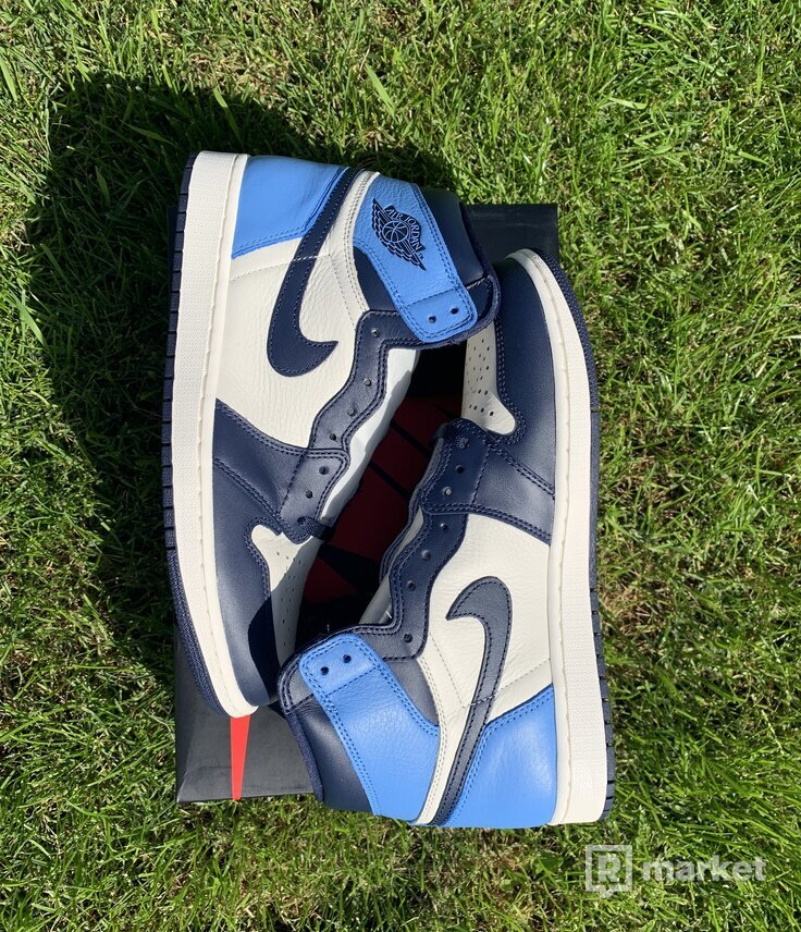 "Jordan Air Jordan 1 Retro High OG  ""Obsidian/University Blue"""