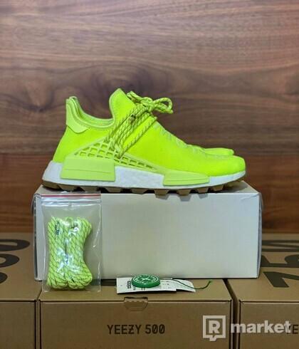 Adidas Human Race solar yellow