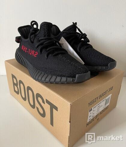 Yeezy Boost 350 V2 Black Red