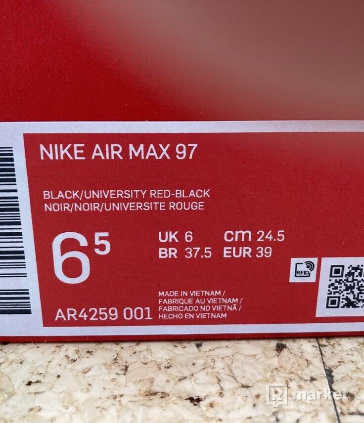 Air Max 97 (black/university red-black)