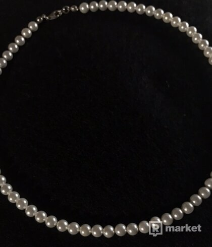 Necklace zo swarovski perál