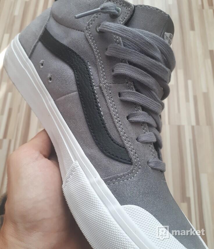 Vans Sk8 Hi Shoe gray TOP