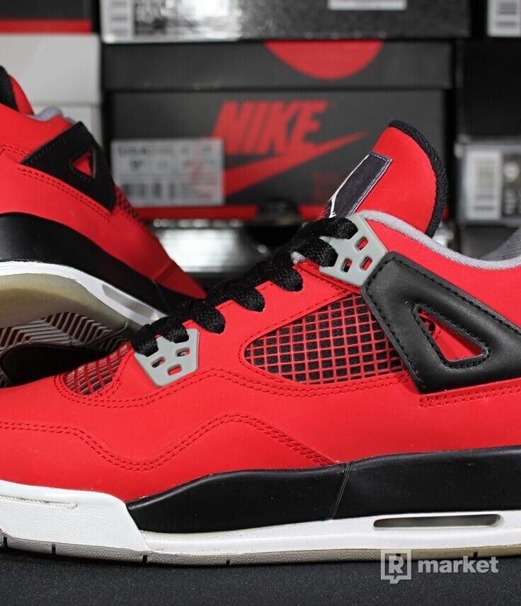 """Air Jordan Retro 4 """"Toro Bravo"""" GS"""