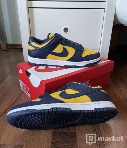"""Nike Dunk Low - """"Michigan"""" + """"Michigan GS"""""""
