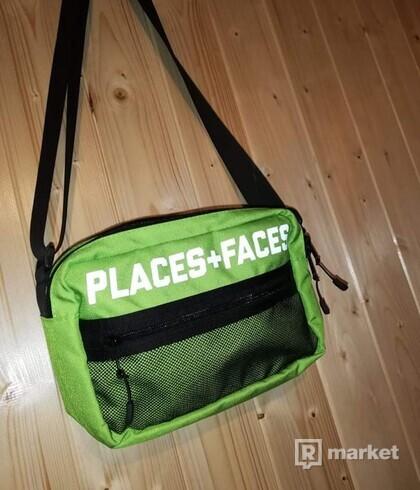Places+faces shoulder bag