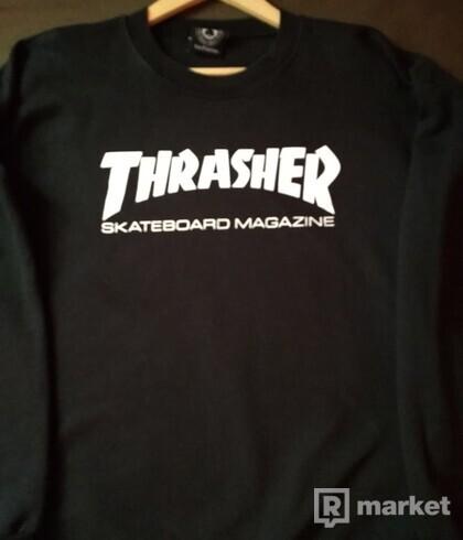 Thrasher black crewneck