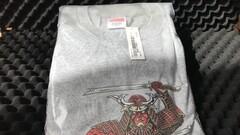 Supreme Samurai Tee Gray