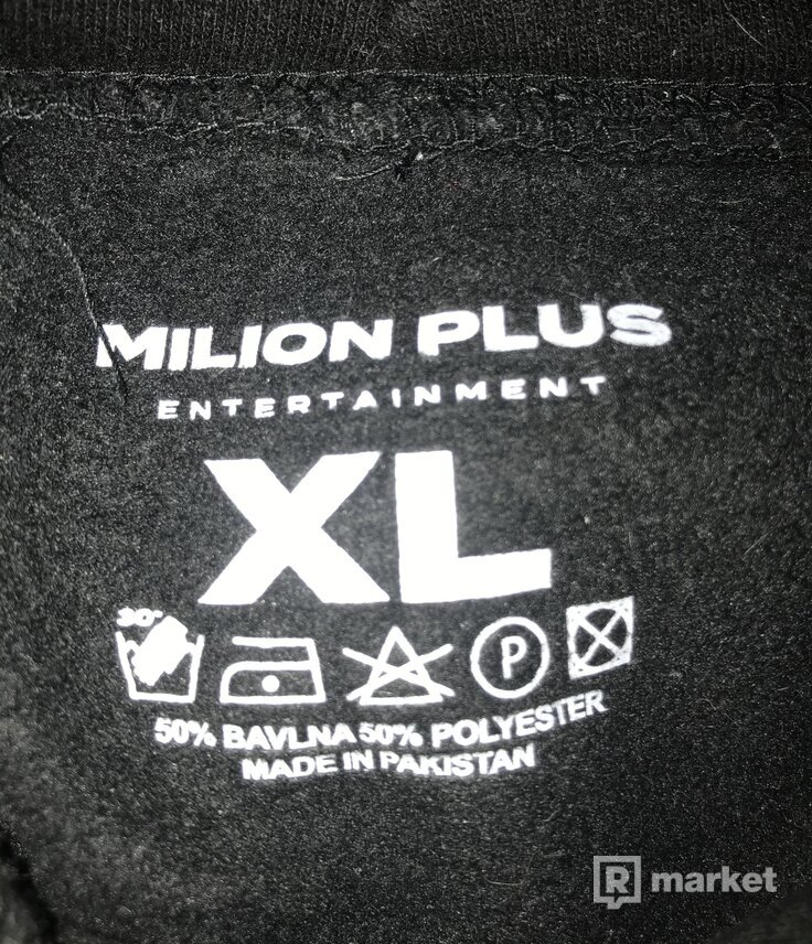 Milion+ mikina