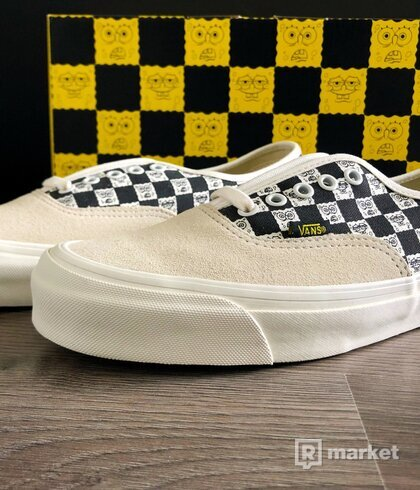 Vans Authentic x Spongebob checkerboard