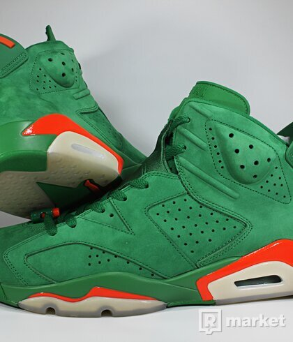 "Air Jordan Retro 6 ""Gatorade"""