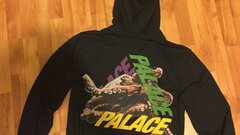 Palace octo hood black