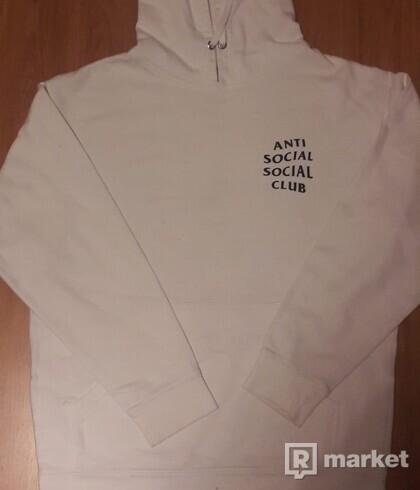 ASSC hoodie biela