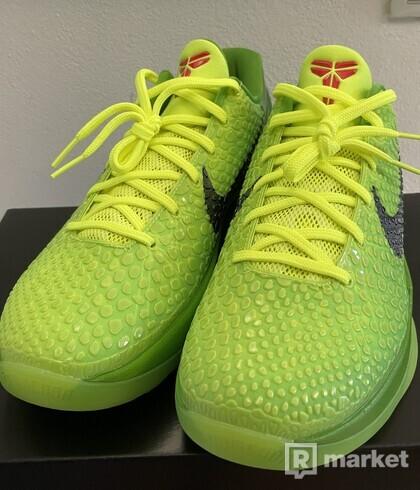 Nike Kobe 6 Protro Grinch 2020