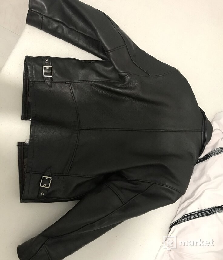 SchottNYC Heavy Leather Biker Jacket
