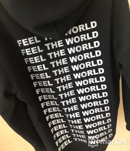 space clo hoodie feel the world