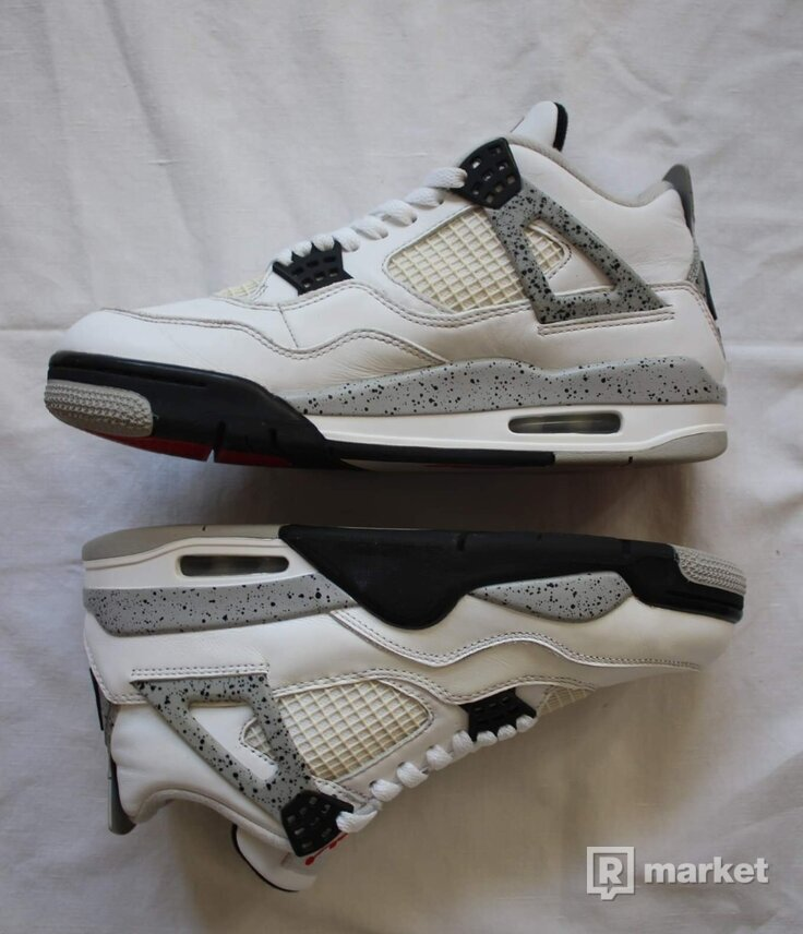 "Air Jordan 4 ""white cement"" 2016"
