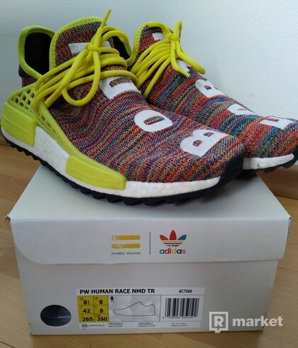 NMD Pharrell Human Race Multicolor