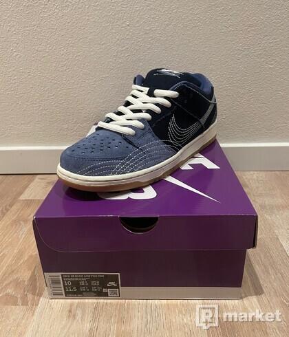 Nike SB Dunk Low Denim Sashiko