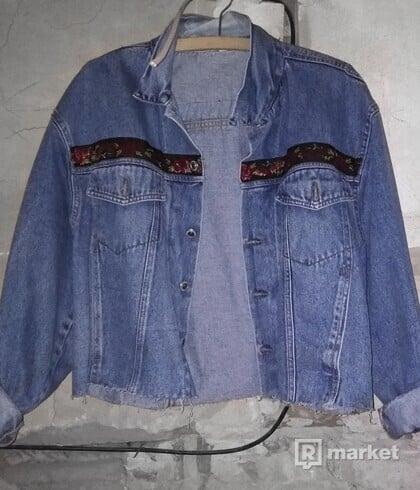 Vintage denim bunda.