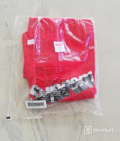 Supreme chrome logo tee