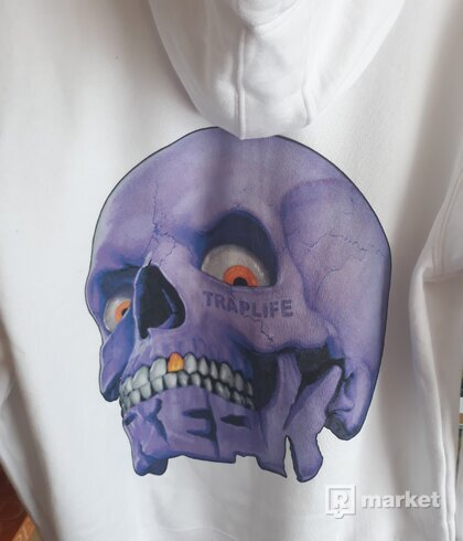 Freak x traplife zip hoodie