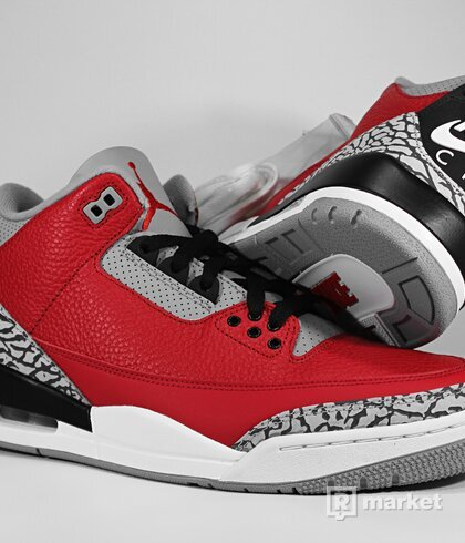 "Air Jordan Retro 3 LE ""Chicago Exclusive"""