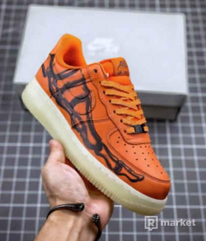 Nike Air Force 1 Low Orange Skeleton 42