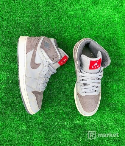 Nike Air Jordan 1 High Camo 3M Wolf Grey