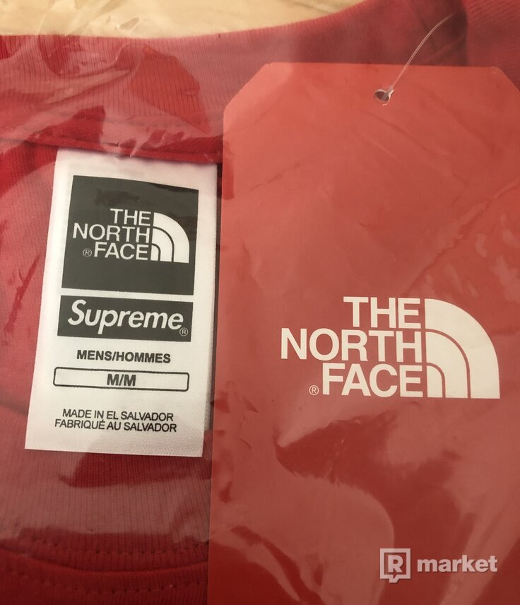 Supreme x TNF TEE