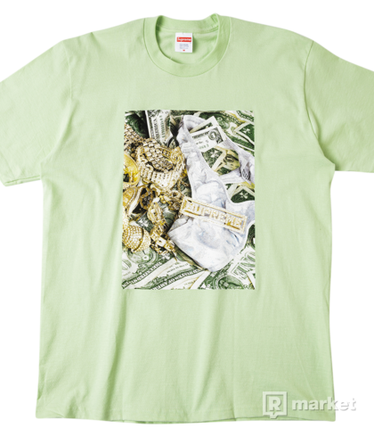 Supreme bling tee mint