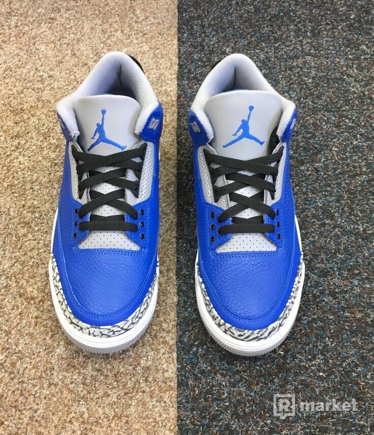 Nike Air Jordan 3 Varsity Royal Cement