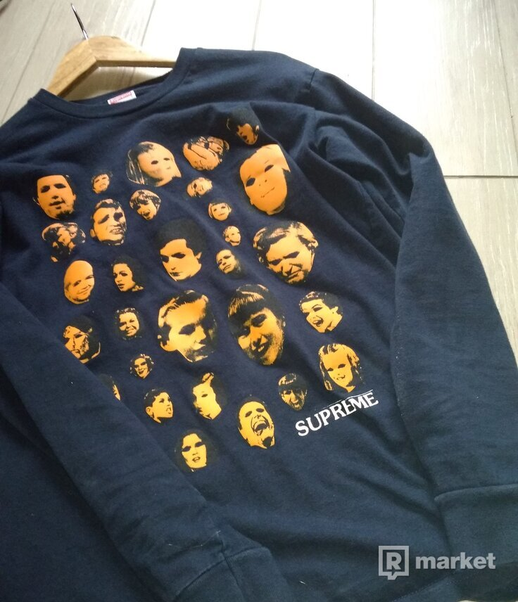 Supreme faces longsleeve
